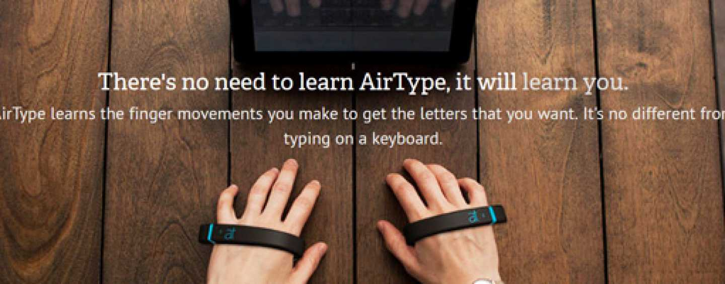 Type without a keyboard with Air Type..!