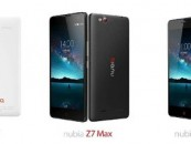 ZTE launches new range of Smartphones – Nubia Z7, Z7 Max and Z7 Mini