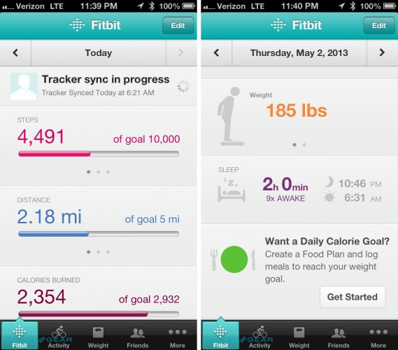 fitbit app for iphone top 10 fitness and workout apps for your ios amp android 5072