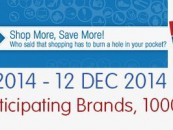 It's Great Online Shopping Festival (GOSF) for Indian customers from 10-12 December 2014
