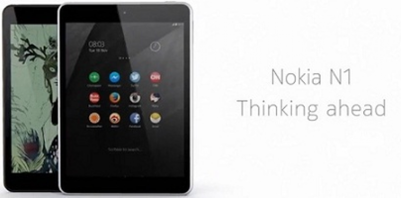 Smart and Amazing –The New Nokia N1 Tablet