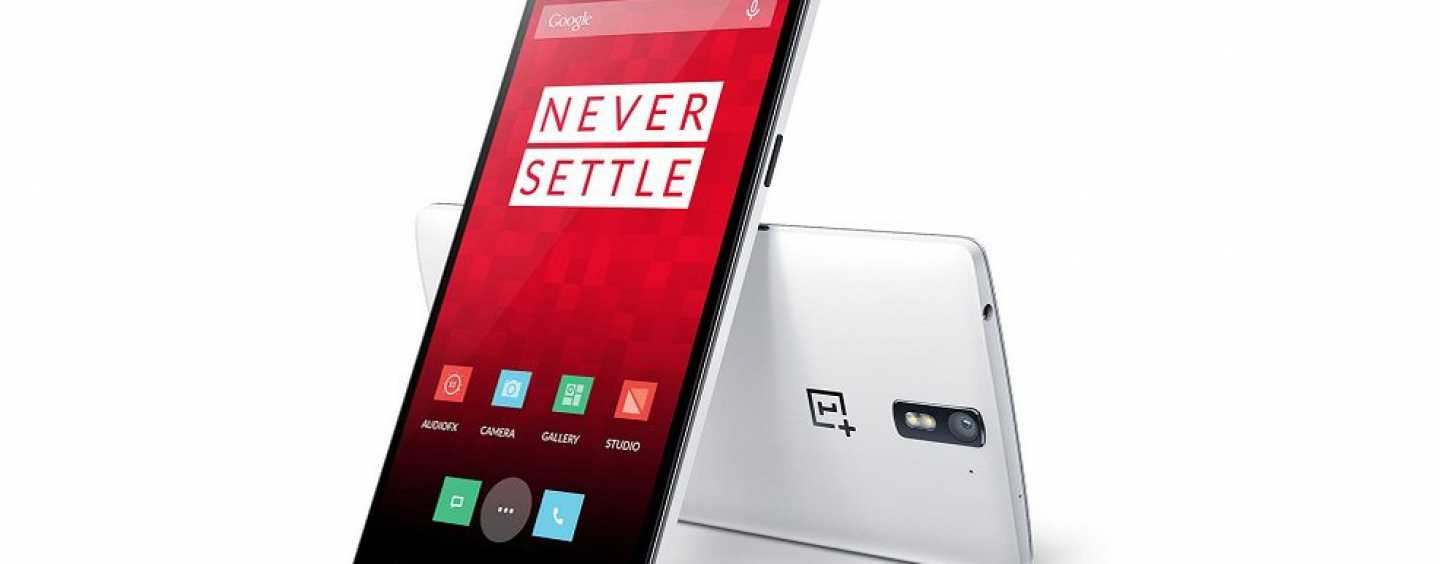 OnePlus One top of the line Android Phone powered with Cyanogen