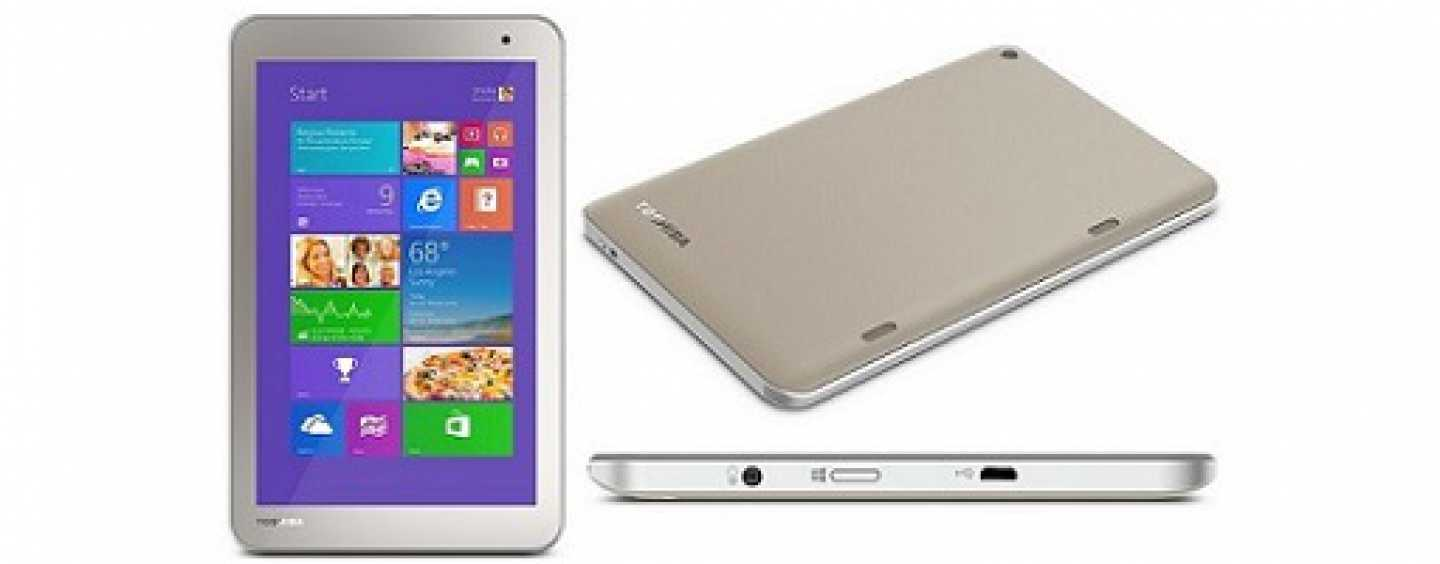 Toshiba WT8  B Tablet – A Powerful Device with stellar features