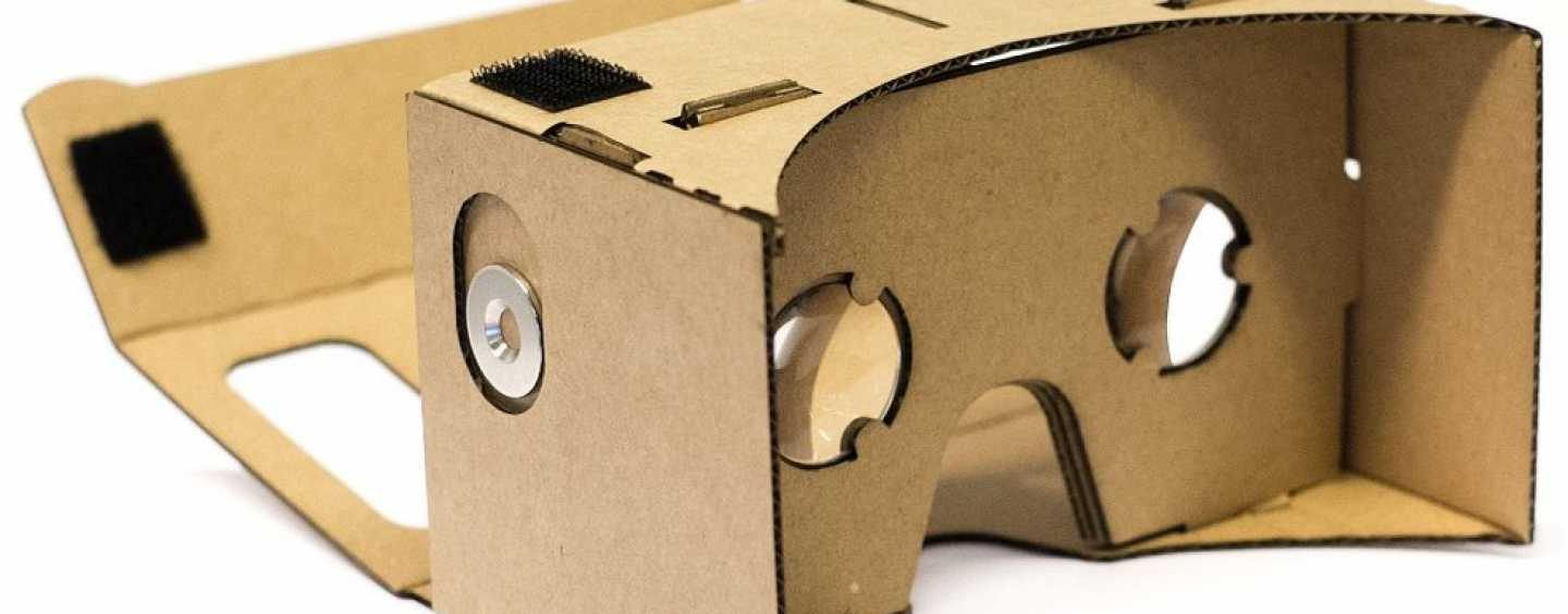 Get your Google Cardboard and soak into the virtual reality experience