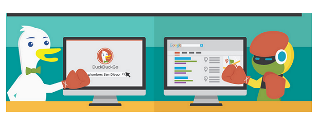 Duck Duck Go Vs Google   Versus By CompareRaja