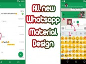 Android WhatsApp Gets A New Look!