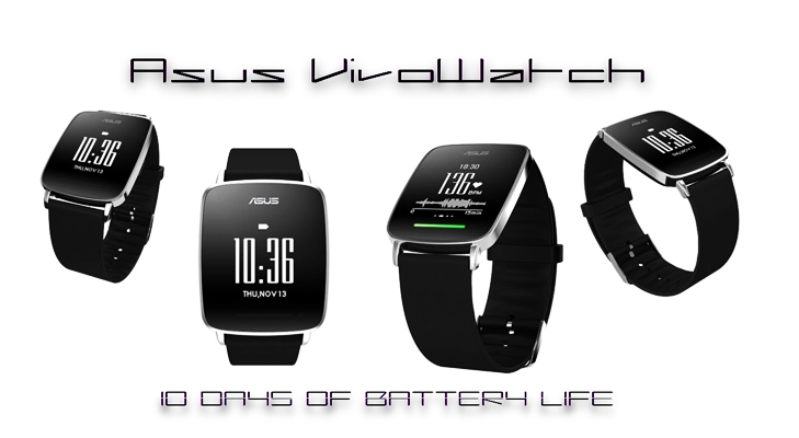 asus vivo smart watch battery life