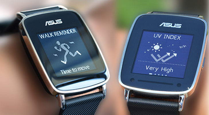 asus vivo smart watch features