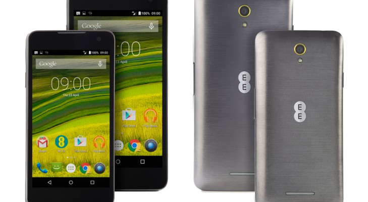 ee harrier and ee harrier mini smart phone