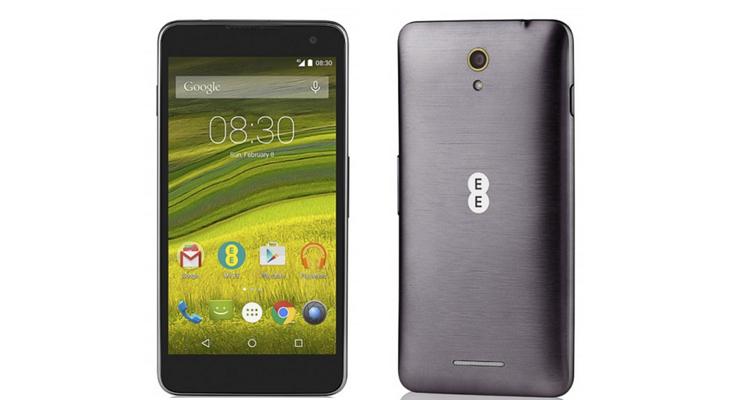 ee harrier smart phone specifications
