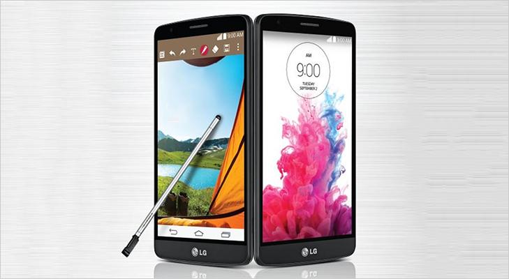 LG G4 stylus smartphone design