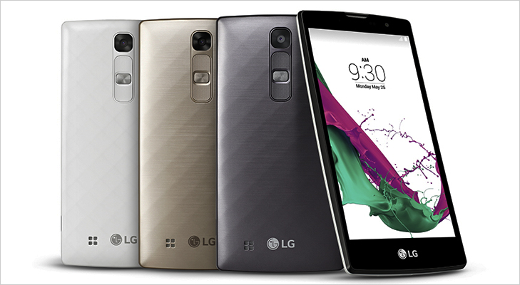 LG Stylus smartphone colours