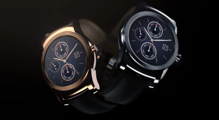 LG Urbane Smart Watch design