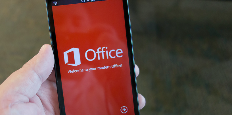 Microsoft Launches Office for Android Phone Preview Version