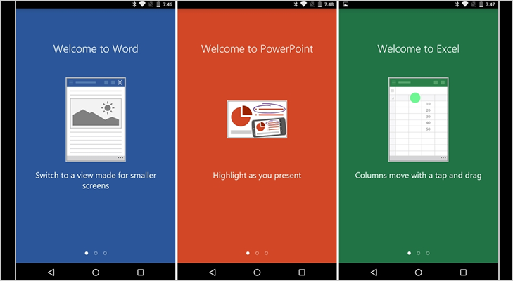 Microsoft launches office for android phone preview version versus by compareraja - Office apps for android free ...