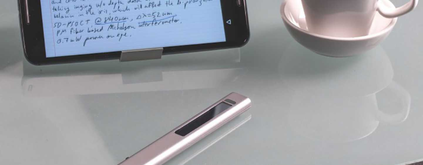 The Smart Phree Pen Is Mightier Than The Stylus