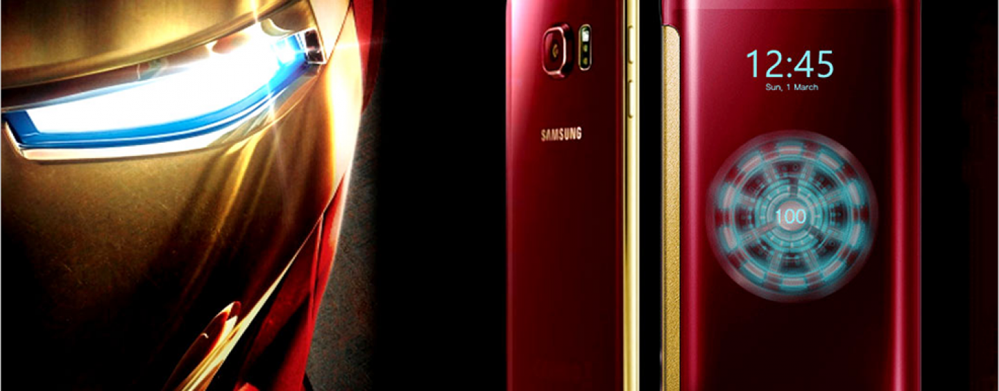 Samsung Set to 'Marvel' Its Global Fans with New Iron Man Edition Galaxy S6 and S6 Edge Models
