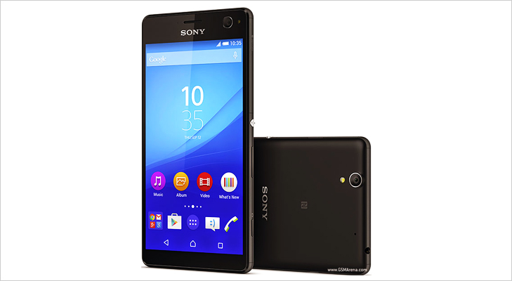Sony Xperia C4 Selfie Camera with flash