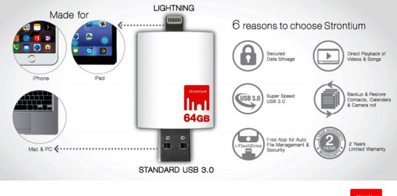 The ultimate external storage device for iPhones – Stronium Nitro iDrive 3.0
