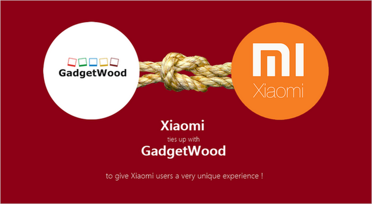 Xiaomi gadgetwood partnership