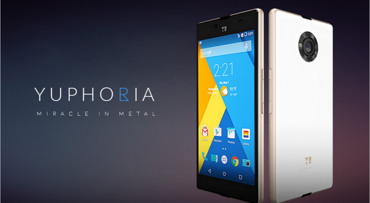 Yu youphoria smartphone
