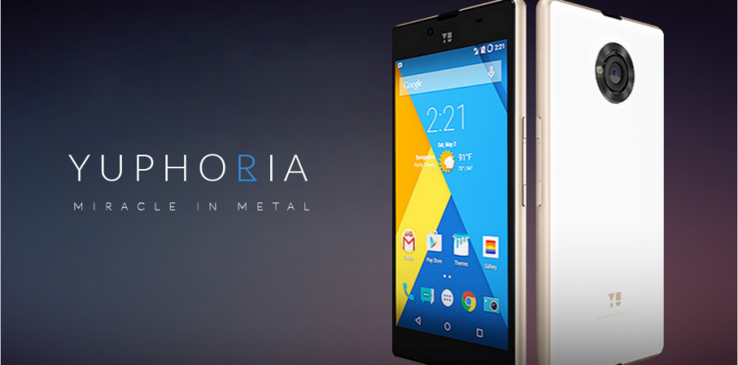 Indian Smartphone Users Rise to the State of YU 'Yuphoria'