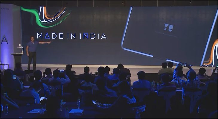 Yuphoria smart phone made in India