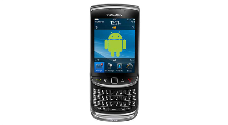 android os for blackberry