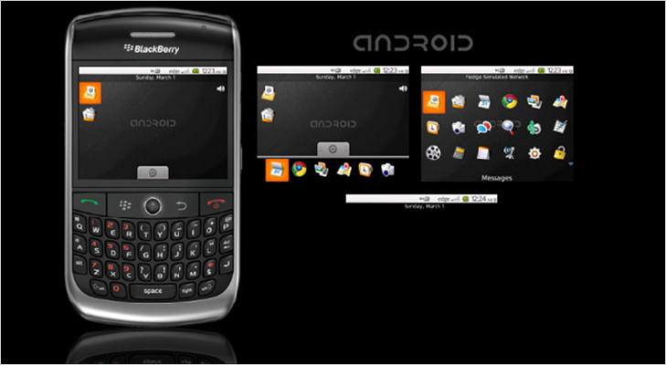 blackberry android user interface