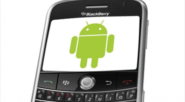 blackberry to launch android smartphone