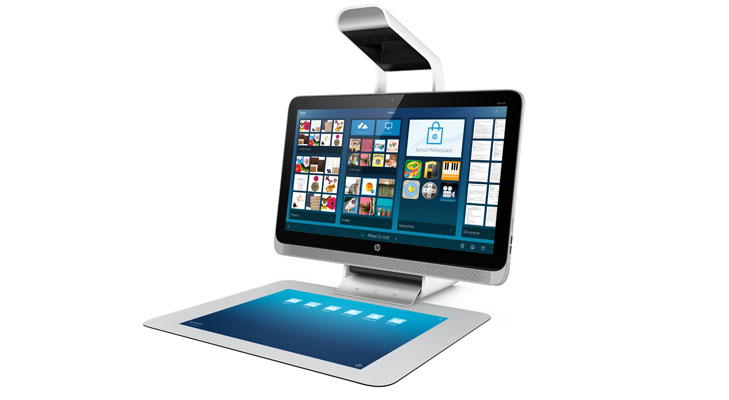hp sprout pc touchmat