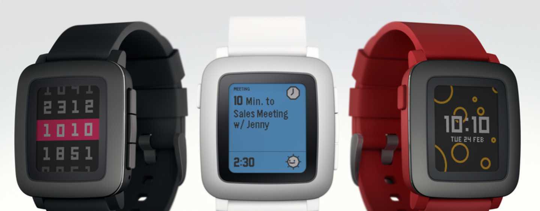 Pebble Time Smartwatch – Simple yet Elegant
