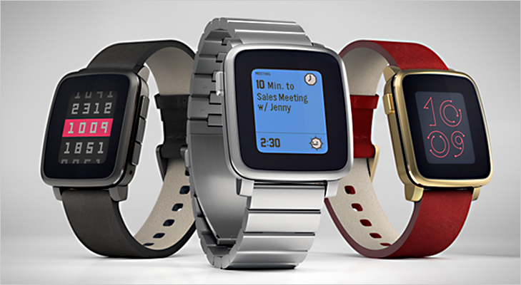 pebble time smart watch design