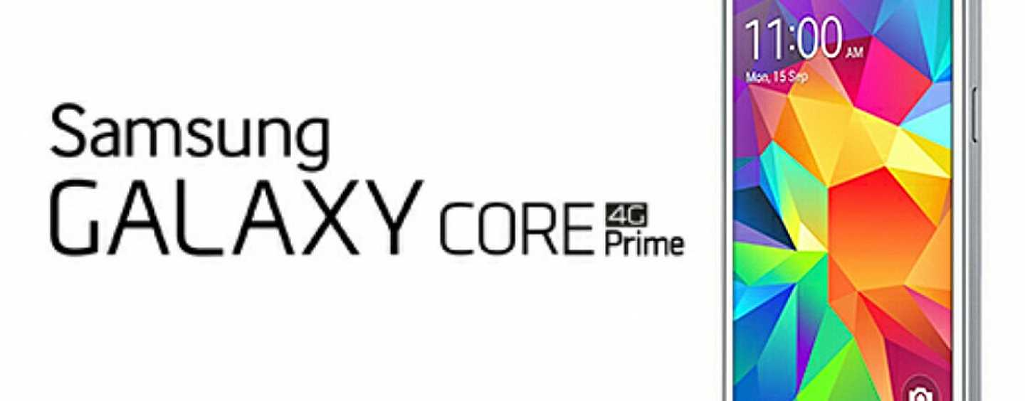Samsung Enters the 4G Smartphone Race With Galaxy Core Prime 4G