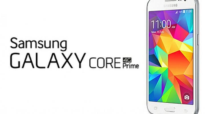 samsung galaxy core prime 4g smartphone