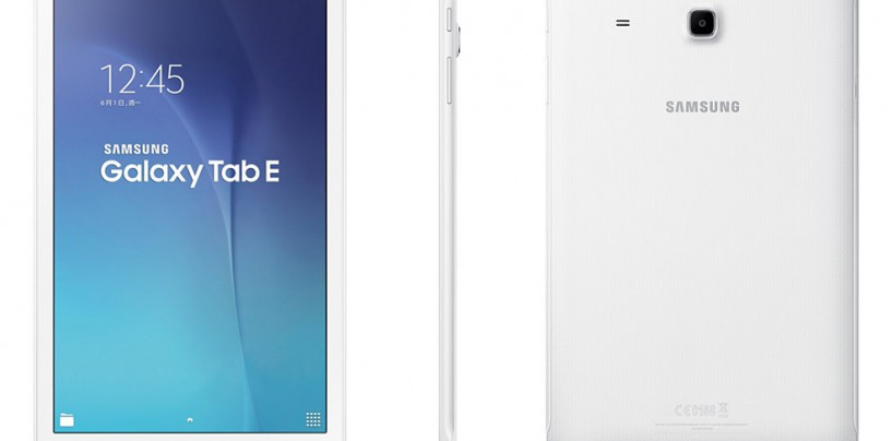 SAMSUNG BRINGS TABLET 'E' INTO THE GALAXY