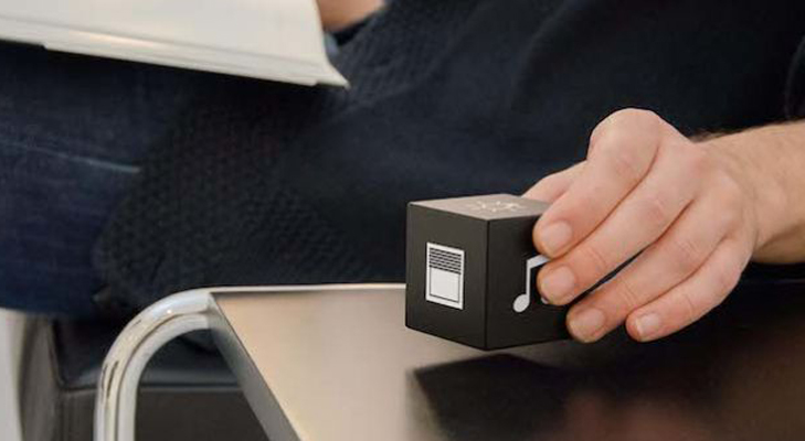 small cube controller of home device