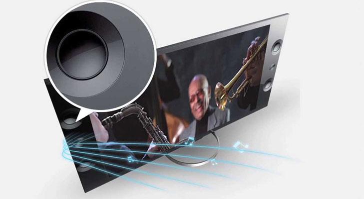 sony 4k tv speakers