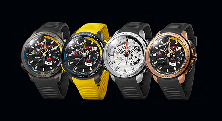 timex yacht racer watch colours