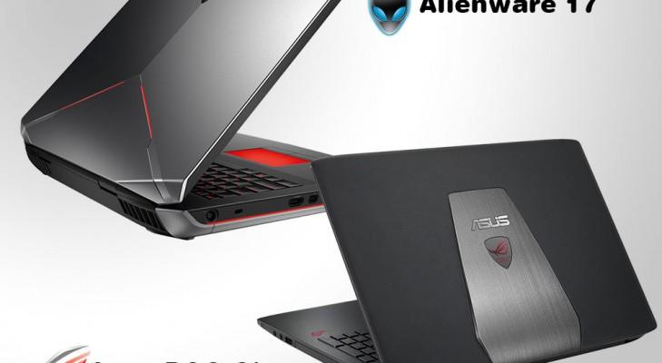 3asus rog gl552 vs alienware 17