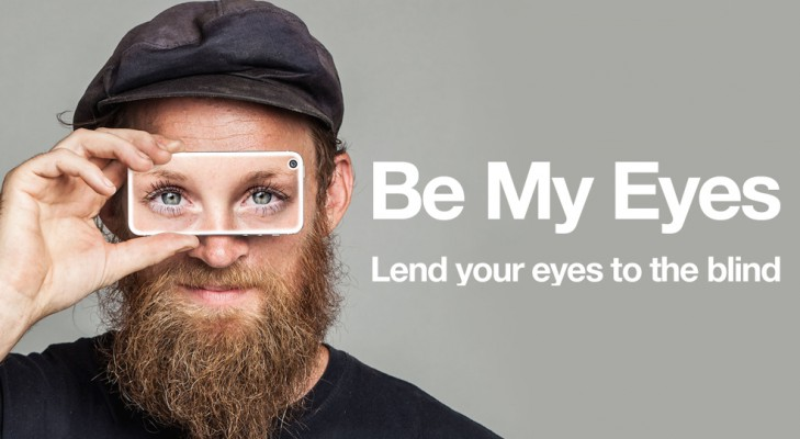 Be My Eyes iOS app – Gives the Power of Virtual Eyes to the Visually Impaired