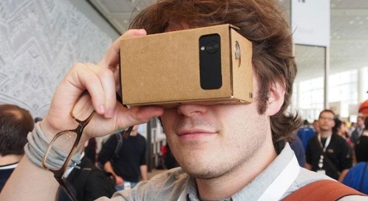 cardboard headset virtual tour