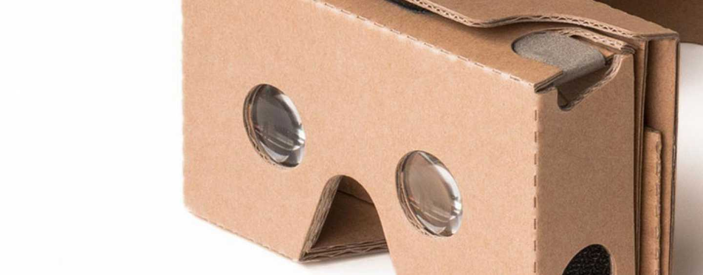 CARDBOARD VR HEADSET – LOW COST WAY TO VIRTUAL REALITY