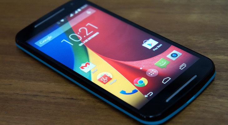 Moto G3 HD screen