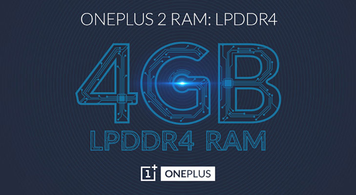 oneplus 2 lpddr4 memory chip