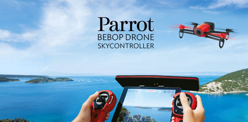 Parrot's Flying HD Camera – Bebop Drone