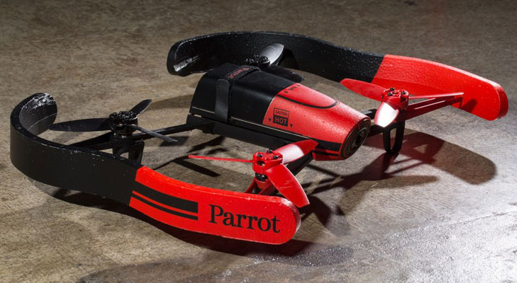 parrot bebop full body