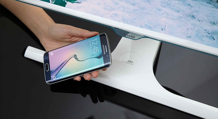 samsung wireless mobile charging monitor
