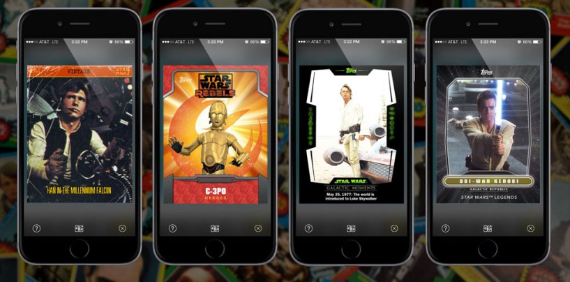 With The New Star Wars App It's Lightsabers, Selfies & Action!