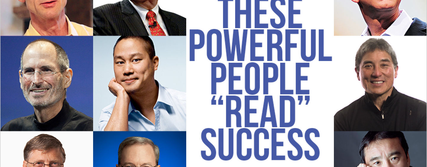 """THESE POWERFUL PEOPLE """"READ"""" SUCCESS…"""